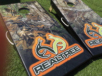 Realtree Camo Cornhole Boards