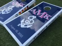 Rope and Anchor Custom Cornhole Boards