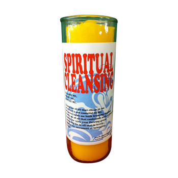Spiritual Cleansing Custom Big Al Candle