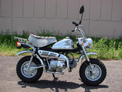 A Z50 Honda Monkey Special Chrome Edition
