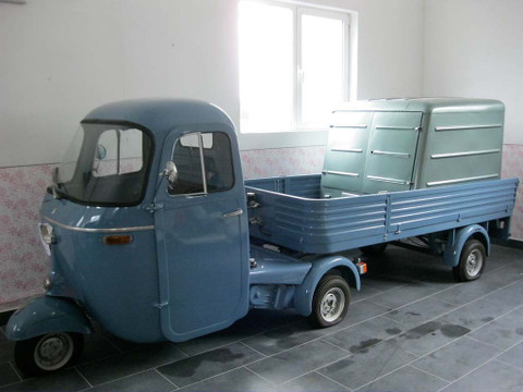 1967 piaggio ape pentaro vintage italian motor cars. Black Bedroom Furniture Sets. Home Design Ideas