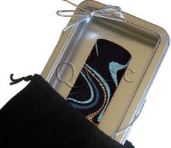 Qyze Wine Collar  |   Waves of Gloucester   |   Designer Wine Accessory