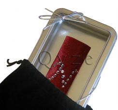 Monogrammed Wine Collar   Personalized Wine Accessories