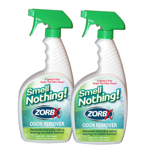Eliminate odors instantly with ZORBX 24 oz. Smell Nothing value pack