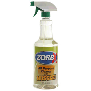 Eliminate grease, oil, and stains from hard surfaces, machines, appliances with 32 oz. All Purpose Cleaner with Muscle