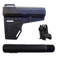 SHOCKWAVE BLADE, KAK BUFFER TUBE AND MAGPUL MBUS REAR SIGHT COMBO