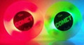 The Comet Puck - Red/Green 2 Pack