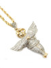 10K Gold 0.87CT Diamonds Angel