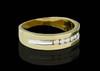 14K Gold 0.30CT Diamonds Men's Band