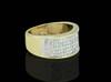 14K Gold 1.15CT Diamonds Men's Band