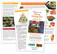 Oldways Welcome to the African Heritage Diet Trifold Brochure