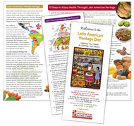 Oldways Welcome to the Latin American Heritage Diet Brochure