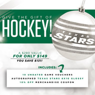 Texas Stars Holiday Pack