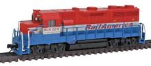 N Scale Atlas EMD GP35 Phase Ib w/Dynamic Brakes Railink Canada, RailAmerica RLK  40000745  OL1