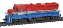 N Scale Atlas EMD GP35 Phase Ib w/Dynamic Brakes Railink Canada, RailAmerica RLK 40000744  OL1