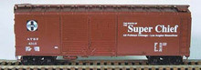 BOWSER HO 40 Foot Box Cars (Double Door) KIT  ATSF 3-1212  OL 1