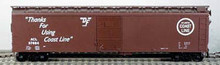 BOWSER HO 50 Foot Box Cars (Single Door) KIT  ACL  3-1510  OL 1