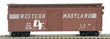 BOSWER HO 40 Foot Box Cars (Single Door) KIT  WM  3-1071  OL 1