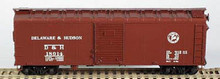 BOWSER HO 40 Foot Box Cars (Single Door) KIT  D & H  3-1117 OL 1