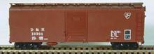 Bowser HO 40 Foot Box Cars (Single Door) KIT  D & H  3-1120 OL 1