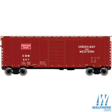 N Atlas PS-1 40' Boxcar Green Bay & Western 50002350 OL 1
