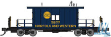 N Bluford Shops Steel Transfer Caboose Norfolk & Western 23091 OL 1