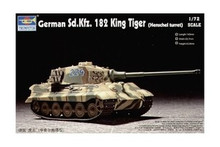 "Germany 182 ""King Tiger"" Tank Henschel turret 1/72 KIT 07201"