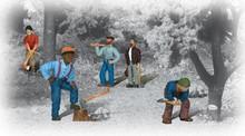 HO Scale woodland scenics Lumberjacks 1876 OL 1