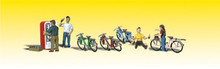 O scale Woodland Scenics  Bicycle Buddies 2752  OL 1