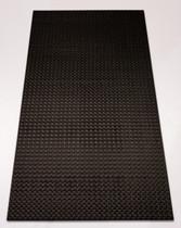 Techno 2' x 4' - Designer Black - Carton of 12 - 96 SF - $12.22 EA