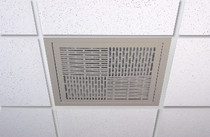 Filtered Air Return - Slotted - Beige