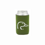 Ducks Unlimited Green Can Insulator