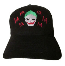 The Joker Art - Suicide Squad - Mr. J. Ha - Jared Leto - Embroidered Baseball Hat - Cap