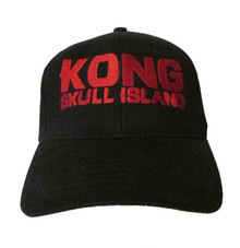 Kong Skull Island Logo Embroidered Baseball Hat - Cap - King Kong Movie