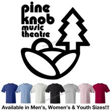 Pine Knob Music Theatre Classic Logo T-Shirt (Retro Detroit DTE Michigan Rock Concert)