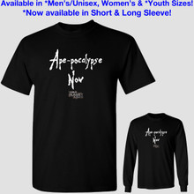 Ape-pocalypse Now - War for the Planet of the Apes T-Shirt - Apocalypse Now Spoof