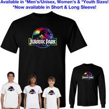 Jurassic Park TIE DYE Logo T-Shirt