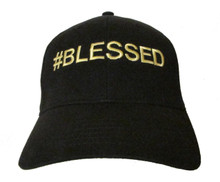 Bruno Mars 24K Magic Song # BLESSED Embroidered Baseball Hat - Cap