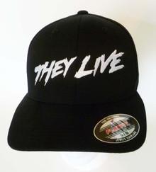 John Carpenter's They Live Logo Embroidered Baseball Hat - Cap
