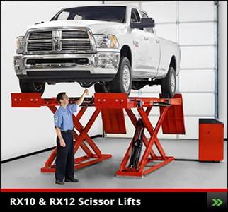 RX10 / RX12 Scissor Lift Rack