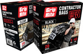 Black 33 in. x 48 in 3 mil 42 Gallon 20 Bags per case (GRHDCBAG20)