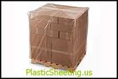 Black Pallet Top Covers with UVI/UVA 2 mil  51X49X97X002, UVI     #10894  Item No./SKU