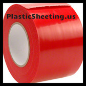 "Husky Yellow Guard Vapor Barrier Sealing Tape  Red 4""x180' 9 mil"