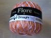 Fiore 8 prints 64 - Orange/White