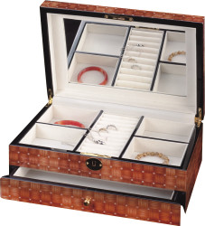 Luxury Jewellery Box with Mirror