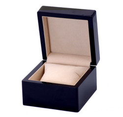 Gloss Black Single Watch Box