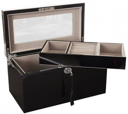 Deep Black Jewellery Box