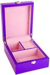 Small Purple Jewellery Box