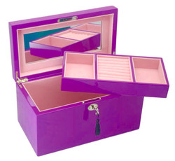 Deep Purple Jewellery Box
