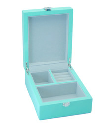 Small Pastel Green Jewellery Box